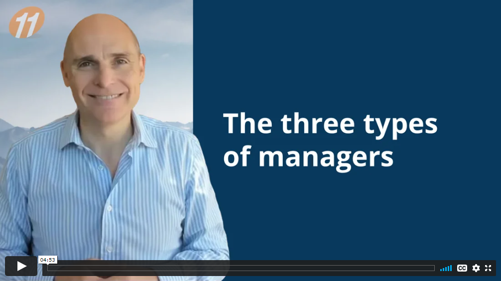 The three types of managers