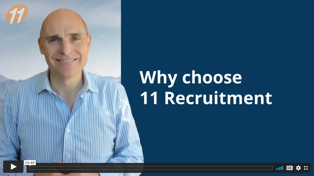 Why choose 11 Recruitment