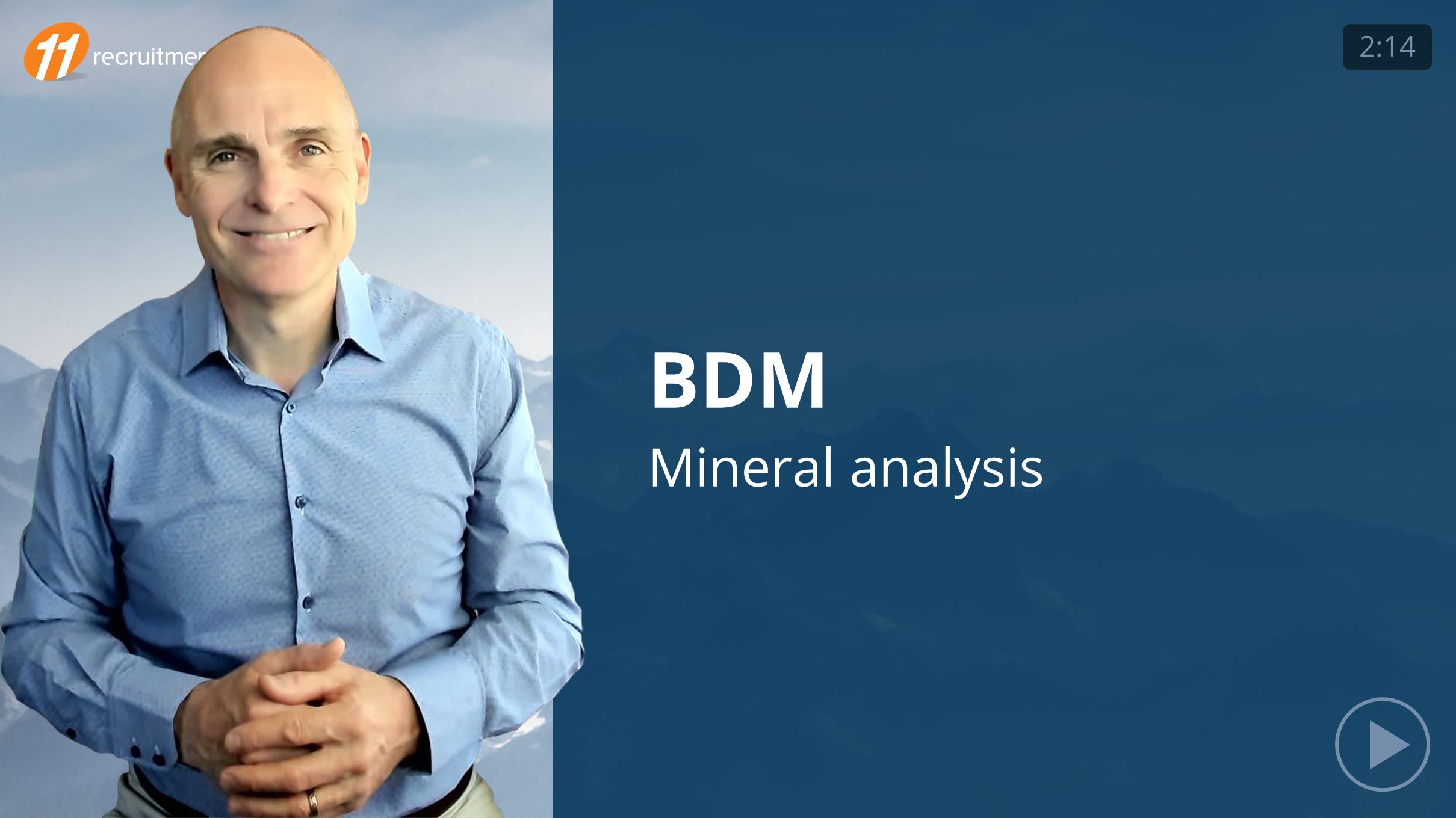 BDM - Minerals