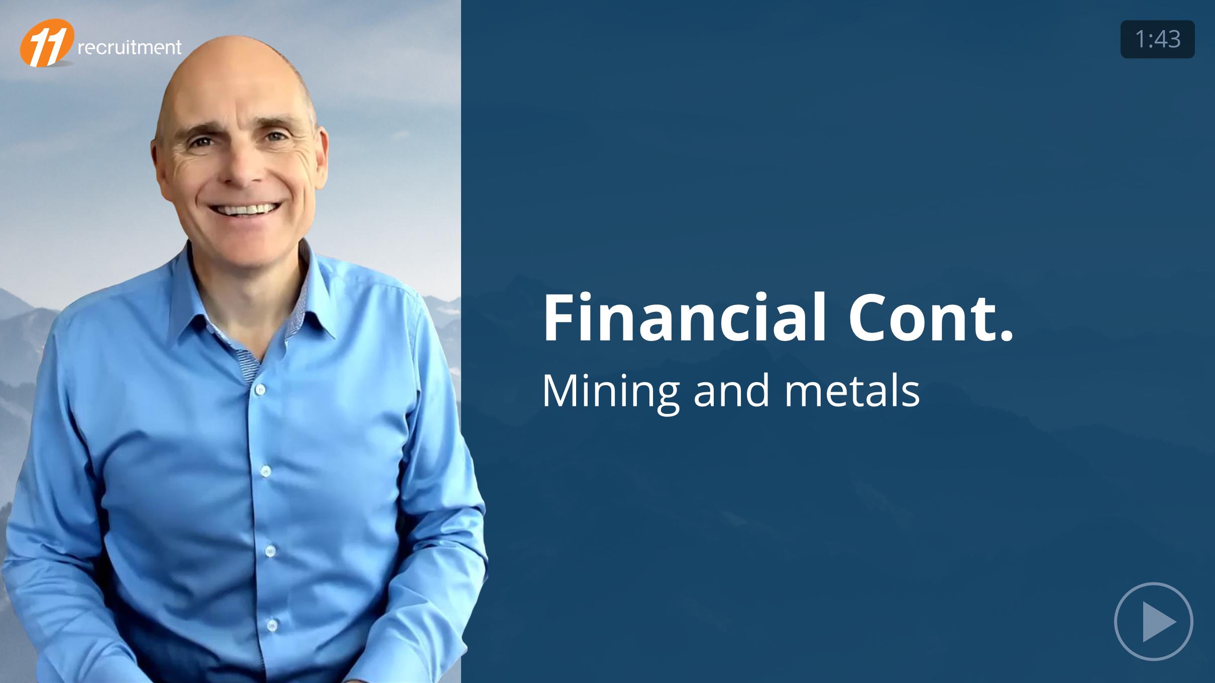 Financial Controller - Mining