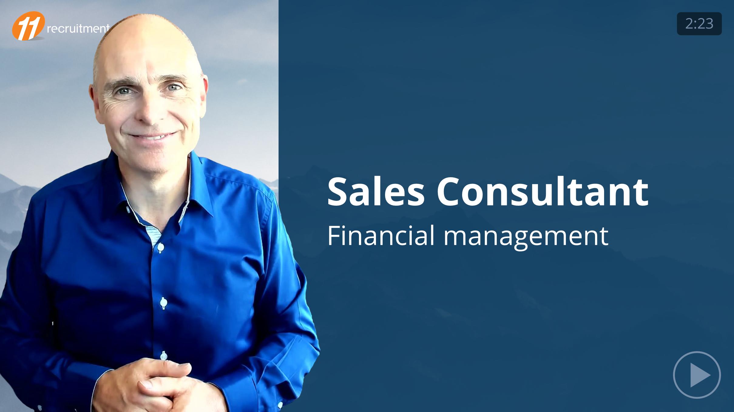 Sales Consultant - Finance