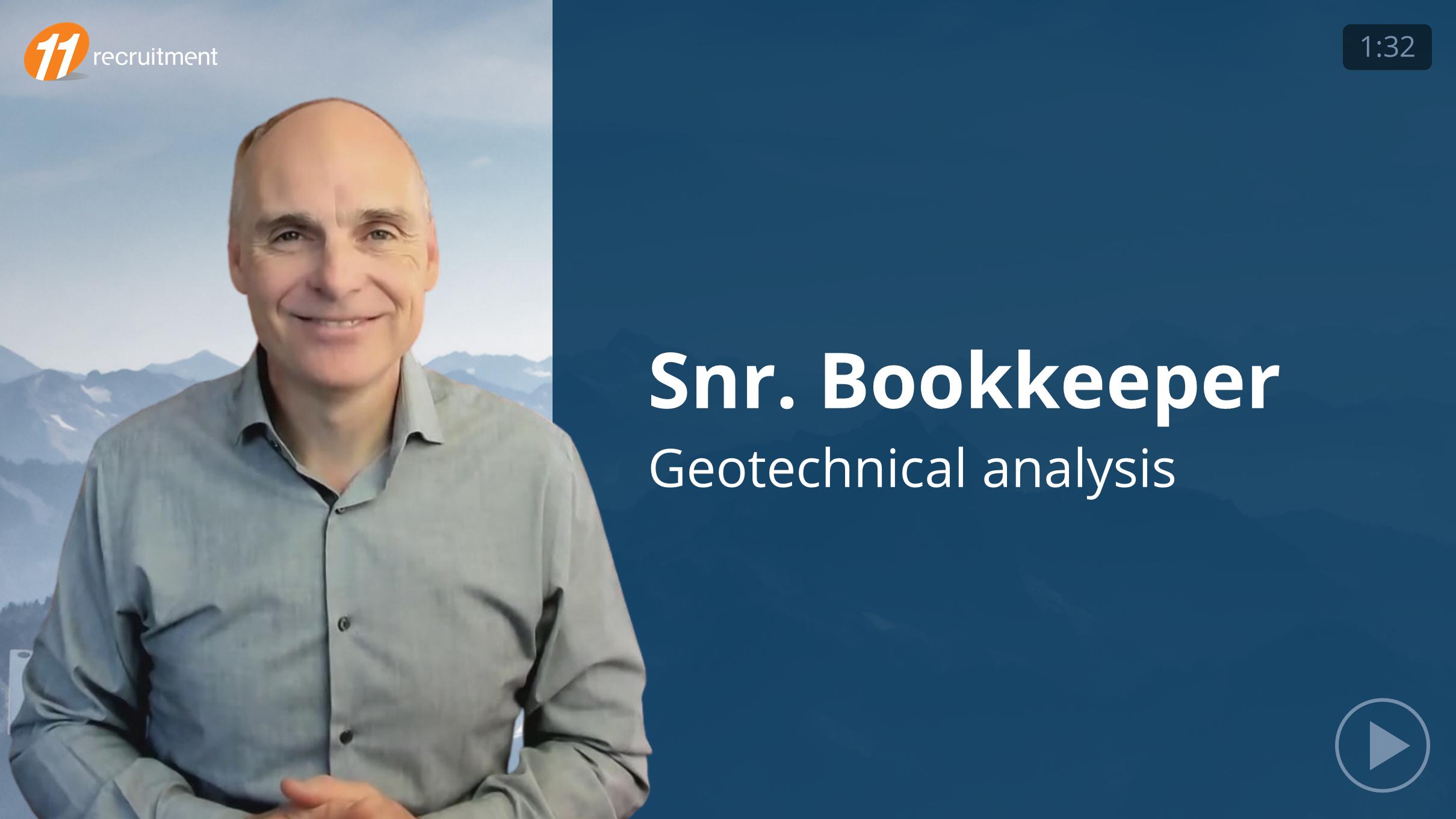 Senior Bookkeeper - Geotechnical